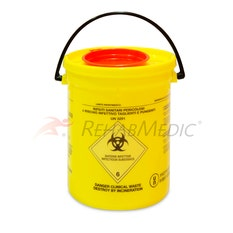 Contenedor de Material Biocontaminado (2 l)