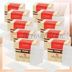 Pack agujas de plata chinas sin guía (5 + 1 caja REGALO)