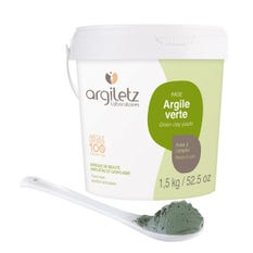 Argiletz Arcilla verde pasta Bote 1,5 kg