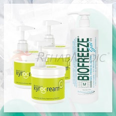 Pack Kyrocream 500ml (3) + Biofreeze 480ml