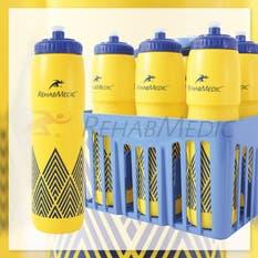 Pack 6 Botellines RehabMedic + Portabotellas