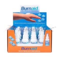 Expositor BURNAID gel spray 50 ml (12)
