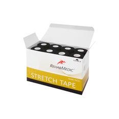 RehabMedic Stretch Tape Negro 7,5 cm (16)