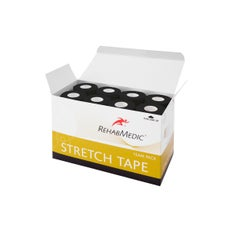RehabMedic Stretch Tape Negro 5 cm (24)