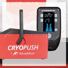 Pack Normatec Pulse 2.0 + 2 botas + Cryopush + 1 accesorio