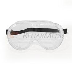 Gafas protección buzo con goma elástica (1)