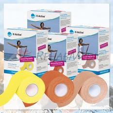 Pack 4ªcaja al 50% K-Active Kinesiology Tape Elite (24ud,5m)
