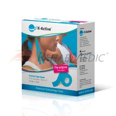 Kinesiology Tape K-Active  5 cm x 17 m Azul