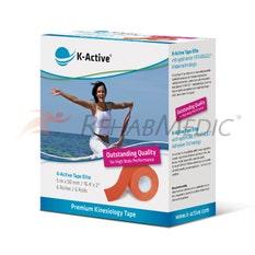 K-Active Tape Elite 5 cm x 5 m Naranja