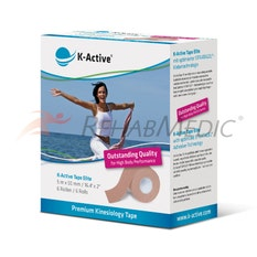 K-Active Tape Elite 5 cm x 5 m Beige