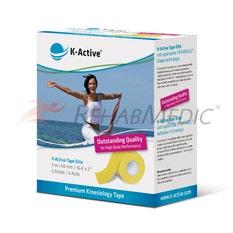 K-Active Tape Elite 5 cm x 5 m Amarillo