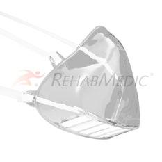 Mascarilla transparente reutilizable con filtro - Lectura labial