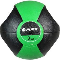 P2I Medicine Ball with Handles 2Kg GR
