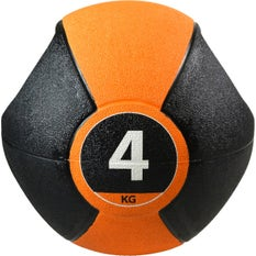 P2I Medicine Ball with Handles 4Kg OR
