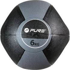 P2I Medicine Ball with Handles 6Kg GY