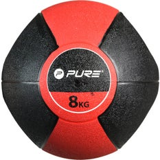 P2I Medicine Ball with Handles 8Kg RD