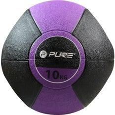 P2I Medicine Ball with Handles 10Kg Pu