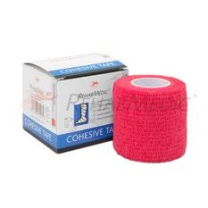 RehabMedic Cohesive Tape Rojo 5cm (1)