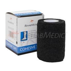 RehabMedic Cohesive Tape Negro 7.5cm (1)
