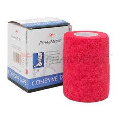 RehabMedic Cohesive Tape Rojo 7.5cm (1)