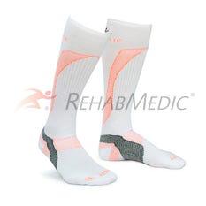 RehabMedic Calcetín Fascitis Plantar Blanco (2)