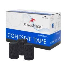 RehabMedic Cohesive Tape Negro 7.5cm (20)