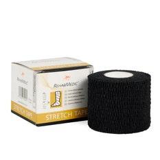 RehabMedic Stretch Tape Negro 5 cm (1)