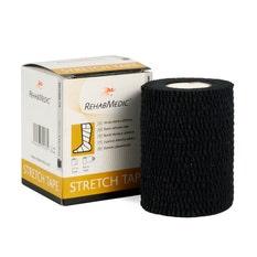 RehabMedic Stretch Tape Negro 7,5 cm (1)