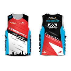 Camiseta Técnica Run Normatec powered by RehabMedic
