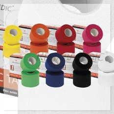 Pack RehabMedic Athletic Tape Caja Retail Colores (12x2)