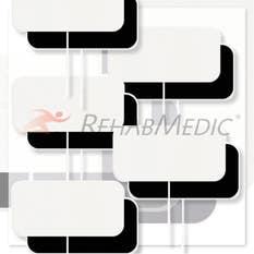 RehabMedic StimX Foam Electrodos 5x10cm (40)