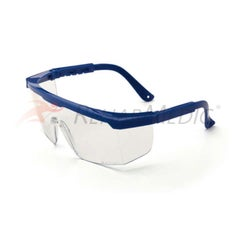 Gafas protección con patillas